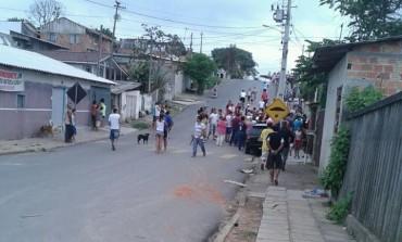 Guerra por ponto de tráfico em Araucária deixa homem baleado na tarde de domingo