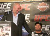 """Presidente do UFC lamenta doping de Anderson Silva: """"Era um grande fã"""""""