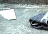 Feto enrolado em cobertor é encontrado dentro de sacola plástica na RMC