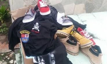 Loja de rock de Araucária é furtada e produtos são localizados dentro de cemitério