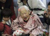 Mulher mais velha do mundo comemora 117º aniversário