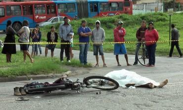 ARAUCÁRIA: Idoso de 74 anos morre em acidente entre bicicleta e moto