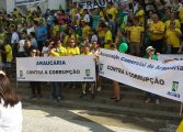 Protesto contra Dilma reuniu mais de 40 mil em Curitiba