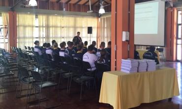 Guardas municipais de Araucária estão participando de curso de formação