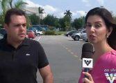 Equipe de TV é assaltada ao vivo durante entrevista