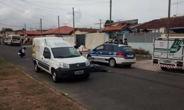 Trabalhador morre e bandido fica ferido em troca de tiros após assalto em Araucária