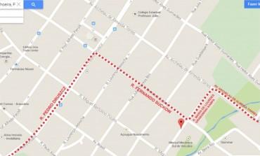 ATENÇÃO: Trajetos e pontos de ônibus foram alterados em Araucária