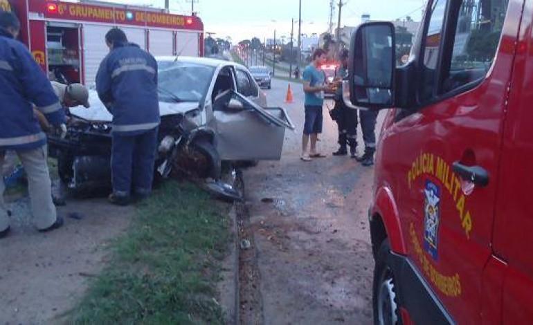 Cinto de Segurança salva vida de motorista em Araucária