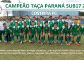 Em disputa de Pênaltis, equipe do Costeira de Araucária é campeã da Taça Paraná