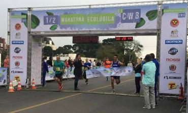 Atleta de Araucária é campeão geral da Meia Maratona de Curitiba