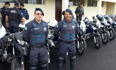 Guardas de Araucária realizam curso de patrulhamento e policiamento motociclístico