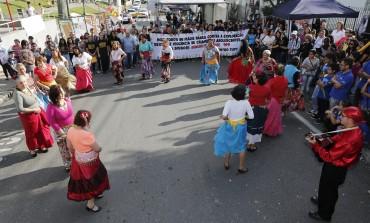 Defesa de direitos marca evento na Praça da Igreja Matriz