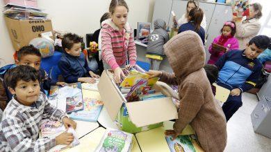 Foto de Oficina de leitura recebe doação de livros em Araucária