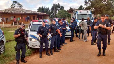 Foto de Guardas de Araucária, Fazenda Rio Grande e Mandirituba realizam operação em área rural da cidade