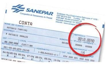 Sanepar-numero-da-matricula
