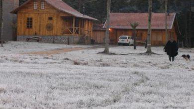 Foto de Araucária registra 8,6 °C na manhã desta sexta. Final de semana temperatura pode chegar próximo dos 0 °C