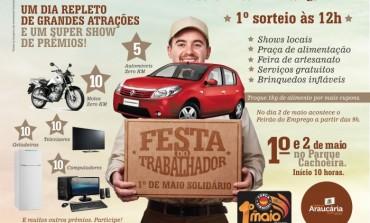 Festa do Trabalhador tem transporte gratuito hoje e amanhã