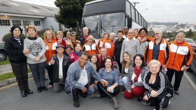Foto de Idosos de Araucária viajam para competir nos jogos de Guaratuba