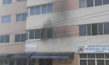 Apartamento de Vereador Clodoaldo pega fogo em Araucária