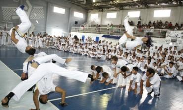 Neste domingo tem Seletiva de capoeira no Parque Cachoeira