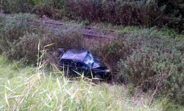 Jovem é ejetado de carro após acidente e é encontrado morto em riacho em Araucária
