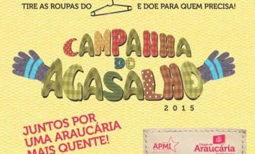 Campanha do Agasalho já arrecadou cerca de 14 mil peças em Araucária