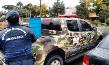 Guarda Ambiental de Araucária apreende pássaros silvestres mantidos clandestinamente