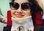Menina de 9 anos tetraplégica pede ajuda nas redes sociais para conseguir chegar o 'Caldeirão do Huck' da TV Globo