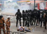 Governo do Paraná parabenizou os policiais da 'Batalha doCentro Cívico'