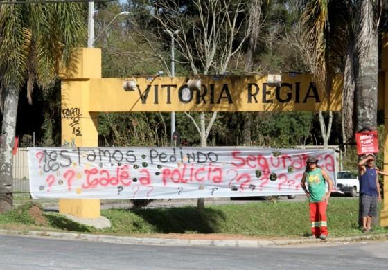 Menina de 4 anos é atacada por homens no Vitória Régia