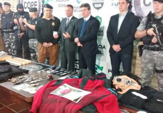12 pessoas envolvidas com arrombamento de caixas eletrônicos são presas