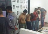 Polícia prende sete suspeitos de praticar arrastões em ônibus em Araucária e Região