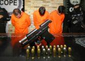 Suspeitos de roubos a caixas eletrônicos são presos