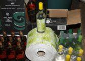 Malandrão é detido por falsificar bebidas alcoólicas 'gringas'