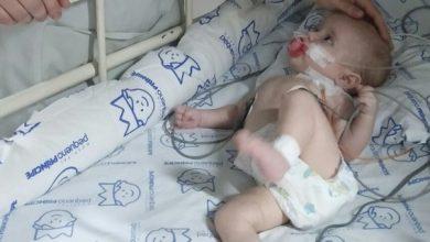 Foto de Em busca de novo coração para bebê de cinco meses, família faz campanha nas redes sociais