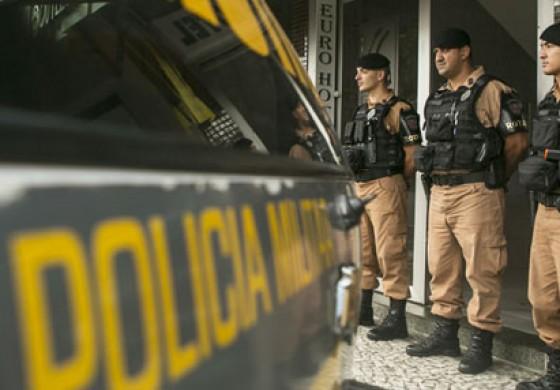 Povo se une para comprar armamento para PM no Paraná
