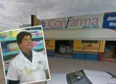 Seu 'Luiz da Farmácia' é morto por bandidos em seu estabelecimento em Contenda