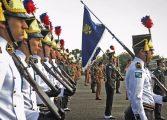 Solenidade militar comemora aniversário de 162 anos da Polícia Militar