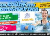 Inscrições abertas: Que tal praticar hidroginástica em Araucária?