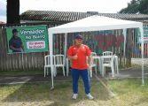 Vereador de Araucária monta 'gabinete itinerante' em Bairros da cidade