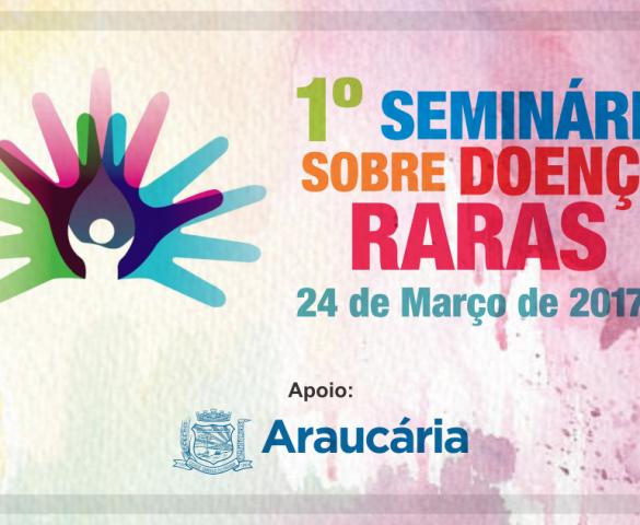 Araucária promove seminário sobre doenças raras