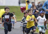 Araucária celebra o Dia dos Pais com 1ª Corrida de Revezamento Pais e Filhos