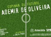 Inscrições para a 1ª Copinha de Futebol Ademir de Oliveira iniciam-se na segunda-feira (24)