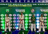 Atletas de Araucária se destacaram no Campeonato Brasileiro de Karatê