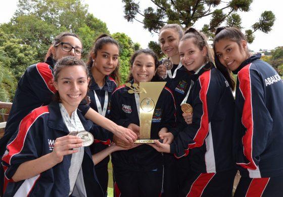 Karatê de Araucária se destaca no 30º Jogos da Juventude do Paraná
