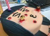 Confeitaria da Malásia cria bolo com 'espinhas' que podem ser espremidas
