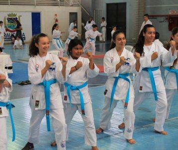 Karatecas e capoeiristas de Araucária passaram por graduação no fim de semana