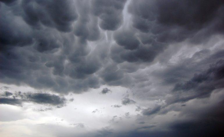 INMET alerta para risco de forte temporal nas próximas horas no Paraná