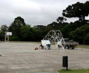Prefeitura de Araucária realiza melhorias em estruturas esportivas