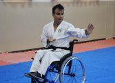 Araucária tem o primeiro karateca cadeirante faixa preta federado do Paraná